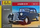Citroen 15 Six Heller 80799 1:8 scale /// NEVER OPENED /// factory sealed
