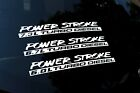 Powerstroke 12 Ford Truck 6.0 6.7 7.3 Window Multi-color Vinyl Decal Sticker