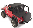 RAMPAGE PRODUCTS 721015 Tonneau Cover for 1992-1995 Jeep Wrangler YJ, Black