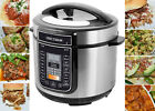 PRESSURE COOKER 10-in-1 Programmable 6 Qt Programmable Double Coated NonStick US