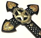 Dallas Police Dept Officer Cross LE Badge New 14x8 3 4 inch Wall Hanging