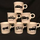 Fiesta Vintage Buick Mugs Tom and Jerry Set