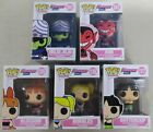 Funko Pop! Powerpuff Girls Lot Set of 5 Figures Mojo Him Bubbles Cartoon Network
