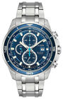 Citizen Eco-Drive Brycen Men's Chronograph Super Titanium 43mm Watch CA0349-51L