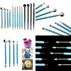 13Pcs Polymer Modeling Clay Sculpting Tools Dotting Pen Silicone Tips Ball Stylu