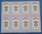 Stamps from the Canal Zone 1960 Boy Scouts of America blk 8  151