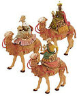 FONTANINI NATIVITY 5 SCALE THREE KINGS ON CAMELS WISE MEN MAGI