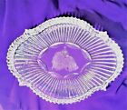 WATERFORD OVAL SCULPTED DISH WITH NATIVITY ETCHED IN CENTER 6 cd005