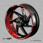HONDA CBR 954 RR motorcycle wheel decals tape stickers Reflective 17 rim stripes