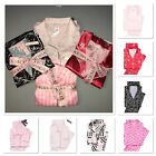 Victorias Secret Afterhours Satin Pajama Set Iconic Stripe pink Pajama XS S M L