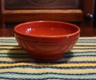 Fiesta Ware Large Footed Rice Bowl - PAPRIKA - Retired Color - EUC