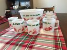 Vintage Tom and Jerry Hazel Atlas Punch Bowl Set 7 Pieces 6 Cups