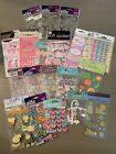SCRAPBOOK STICKERS Crafts Lot of 20 pkgs BRAND NEW Jolees Recollections+ More
