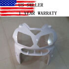 Unpainted Upper Front Nose Cowl Fairing for Kawasaki Ninja ZX12R 2002-2005 03 04