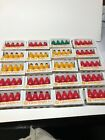 80 GE GLOW BRIGHT C9 BULBS UNUSED IN PACKAGE RED GREEN YELLOW 20 PACKSC 9 OUTDOO