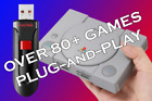 BEST DEAL  Modded PlayStation Classic USB Plug  Play OVER 80+ BEST GAMES