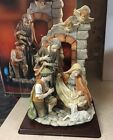 RARE Grandeur Noel 16 One Piece Large Nativity MIB CHRISTMAS COLLECTOR EDITION