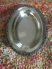 Wilcox International Silver Oval Serving Bowl  New Beverly Manor EPNS
