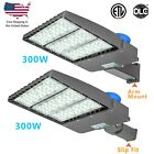 150w 300w Led Parking Lot Light With Photocell Street Pole Light Fixtures