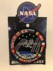 AUTHENTIC AB Emblem ISS International Space Station FLAGS NASA SPACE PATCH JSC