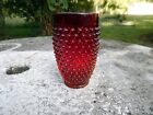 Vintage L E Smith Glass Hobnail 5 1/4