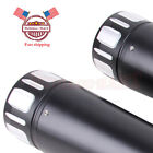 4 Megaphone Exhaust Pipes Mufflers Slip On For Harley Electra Glide Road Glide