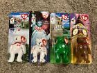 TY Teenie Beanie Babies McdDonalds Set (All 4: Maple, Glory, Erin, Britannia)
