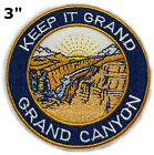 GRAND CANYON National Park Patch Souvenir Travel Embroidered Iron / Sew-on