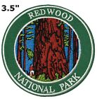 REDWOOD National Park Patch Souvenir Travel Embroidered Iron / Sew-on