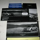 2004 CHRYSLER PACIFICA OWNERS MANUAL SET 04 GUIDE +case FWD AWD