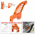 1Set Rear Brake Disc Guard Cover+Pedal Step+Gear Shifter Lever Tips For KTM EXC