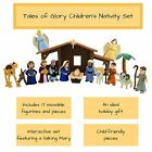 BibleToys Nativity Playset with Talking Mary Figurine Best Girt For Childs