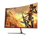 27 In Curved Wide Screen LCD Gaming Monitor Bezel Less 3000R 2mm Side HDMI VGA