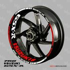 SUZUKI GSX-R 750 wheel decals tape stickers  Reflective gsxr750 17 rim stripes