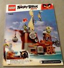 Lego ANGRY BIRDS Instruction Manual Only NEW (from set) #75825 Piggy Pirate Ship
