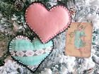 2 Hearts black picot edge from Aunt Ethel's visit in Tattered Memories series