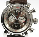 Good Condition! WALTHAM Lawn Eagle Chronograph SW45 Automatic Men's Watch_413627