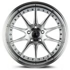 Aodhan DS07 18x95 +30 5x1143 Silver Mazda3 Civic Lancer Eclipse IS300 Veloster