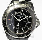 Great! CHANEL J12 H2012 Black Ceramic 42mm GMT Automatic Men's Watch_450154