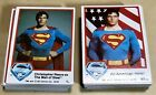 VINTAGE 1978 DC COMICS SUPERMAN THE MOVIE TRADING CARDS LOT (77) Good Condition!