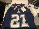 DEION SANDERS DALLAS COWBOYS AUTO MITCHELL & NESS AUTHENTIC '95 THROWBACK JERSEY