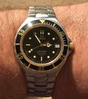 VINTAGE OMEGA SEAMASTER 200M DIVER 368.1062 AUTOMATIC 1109 GOLD&SS 38mm SERVICED