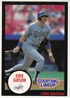 1990 Kenner Starting Lineup Cards Kirk Gibson Dodgers