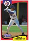 1994 Kenner Starting Lineup Cards #45 Ivan Rodriguez Rangers