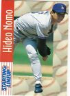 1997 Kenner Starting Lineup Cards #31 Hideo Nomo Dodgers
