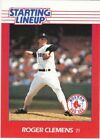 1988 Kenner Starting Lineup Cards #21 Roger Clemens Red Sox