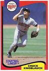 1994 Kenner Starting Lineup Cards #34 Chuck Knoblauch Twins
