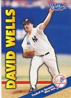1999 Hasbro Starting Lineup Extended Cards #8 David Wells Yankees