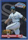 2001 Hasbro Starting Lineup Extended Cards #6 Frank Thomas White Sox