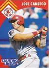 1995 Kenner Starting Lineup Cards Jose Canseco Rangers